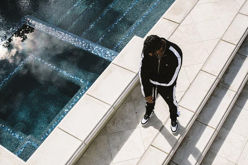 N.D.G STUDIO Survêtement Noir Blanc Sneakers Oreo Los Angeles Bel-Air