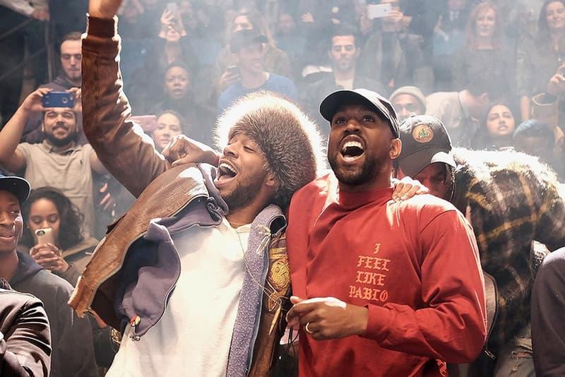 Kanye West Kid Cudi Crewneck I Feel Like Pablo Rouge