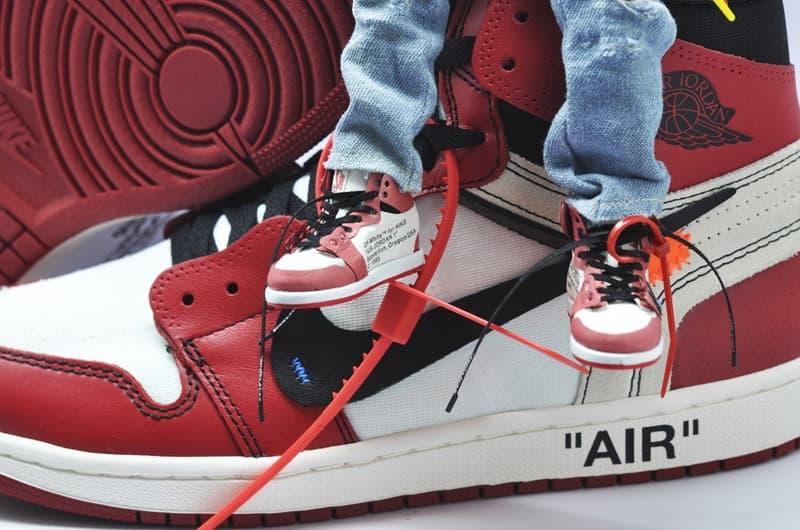 Figurine Virgil Abloh Off-White™ Et Air Jordan 1, Miniature Par Coolrain Lee