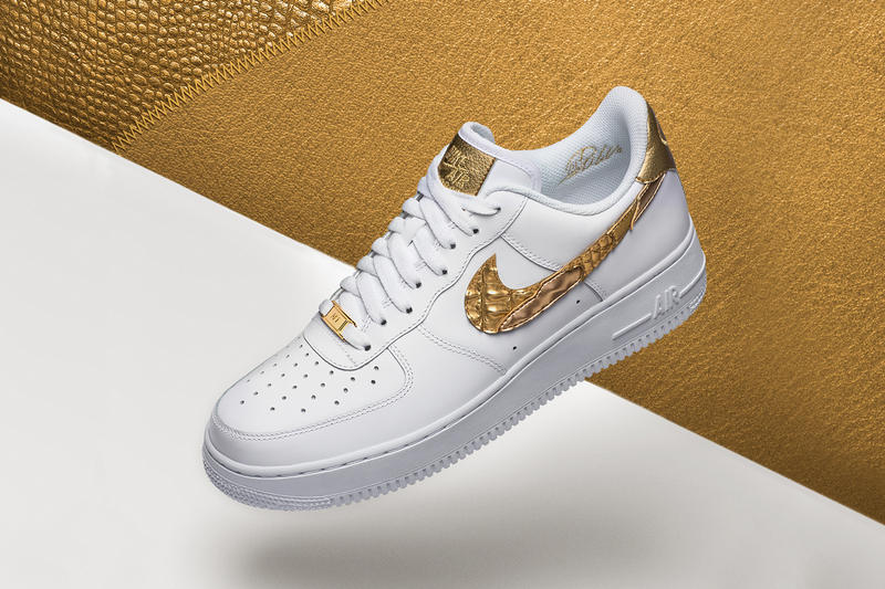 06ef556657efd Nike Air Force One CR7 Hommage Cristiano Ronaldo Golden Patchwork