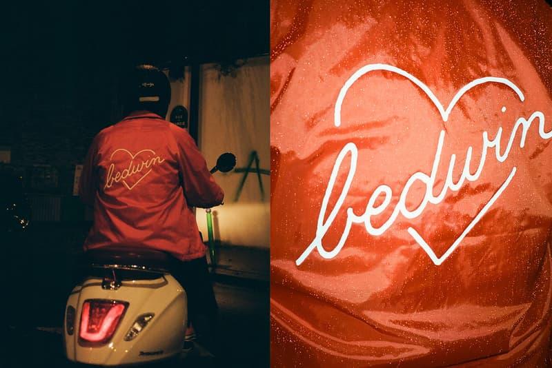 BEDWIN & THE HEARTBREAKERS Jean André Coach Jacket Noir