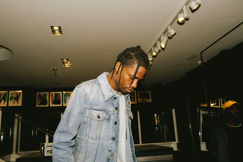 Signature Des Vinyles Travis Scott x Saint Laurent Chez Colette Concept Store Paris 213 Rue Saint-Honoré