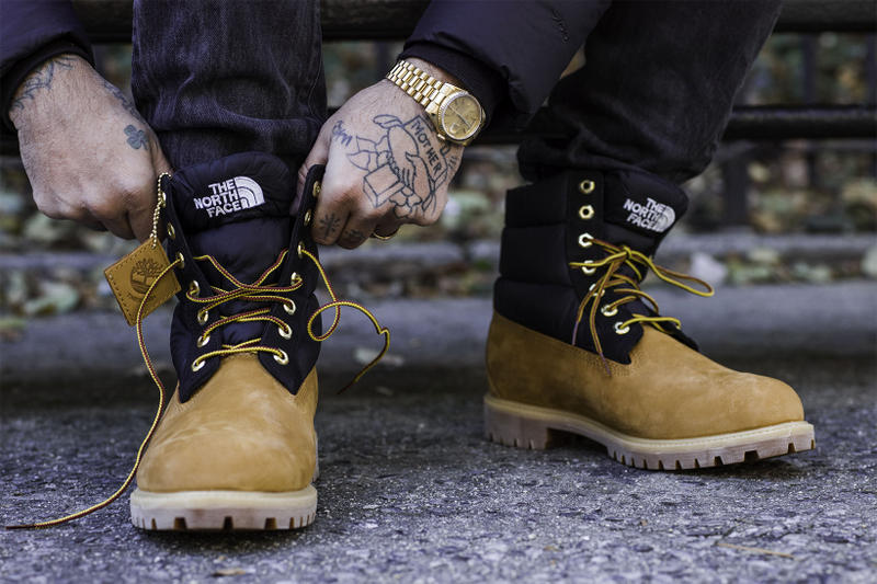 6-inch boot Timberland x The North Face