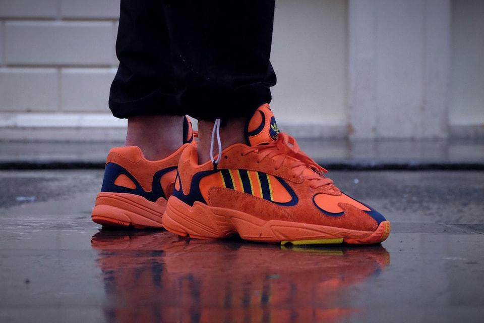 ee04f750370b00 Un Aperçu On-Feet De La adidas Yung-1 Orange | HYPEBEAST