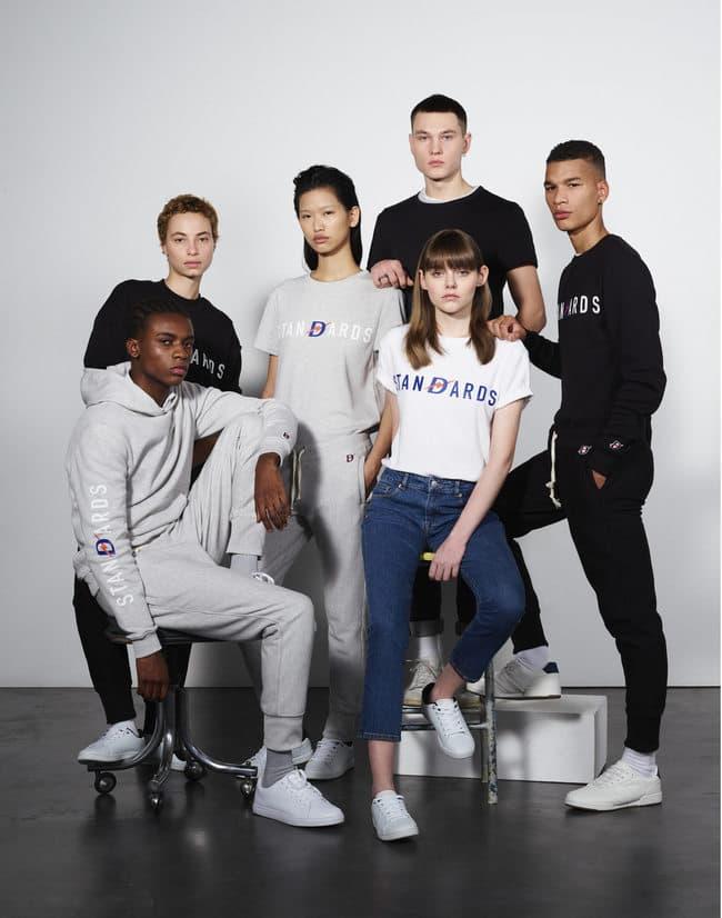 Damart Maison Standards Collection Capsule Collaboration Mode Lille Paris French Touch