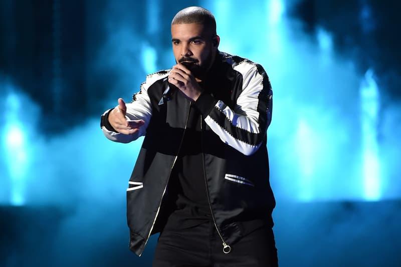 Drake Concert Varsity Jacket Noir Blanc