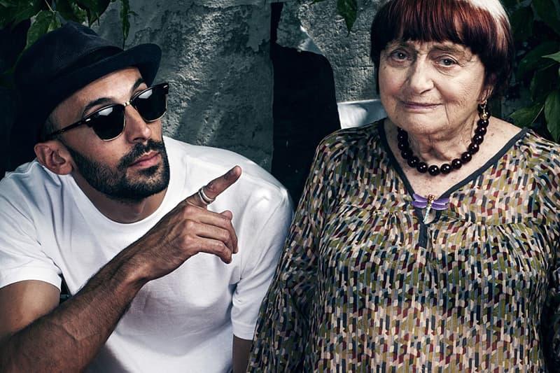 Portrait De JR Et Agnès Varda