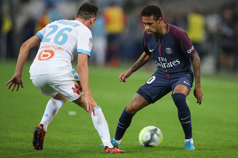 Paris Saint-Germain PSG Olympique de Marseille OM Classico Stade Vélodrome Neymar Jr Florian Thauvin