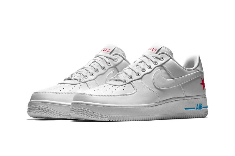 Nike NBA Air Force 1 Coloris City Edition Nike ID