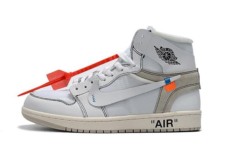 Images De La Off-White ™ Air Jordan 1 Blanche