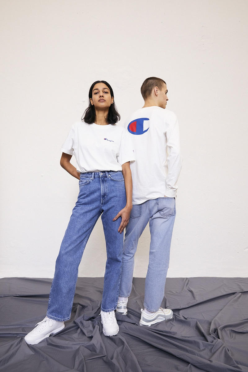 Weekday Champion Streetwear Collection Capsule