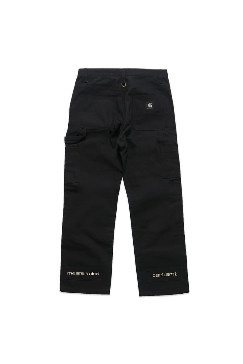 mastermind JAPAN Carhartt WIP Collection Capsule Veste Pantalon Snowboard Crewneck