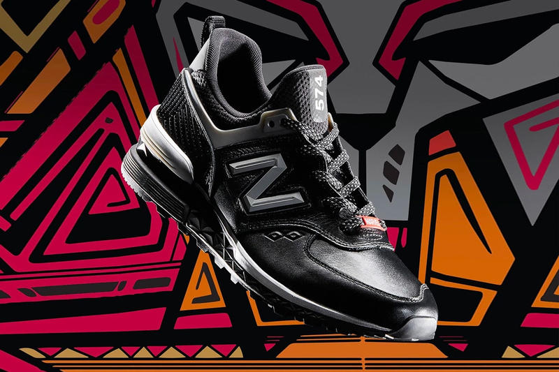 New Balance Marvel Black Panther 574 990v4