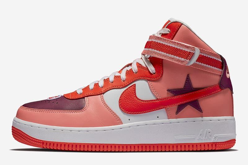 huge discount 59ac6 6f0d2 Lookbook Nike Air Force 1 High x Riccardo Tisci