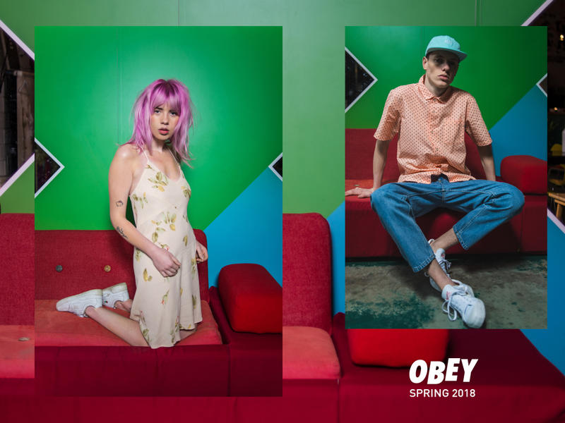 Collection OBEY Printemps 2018