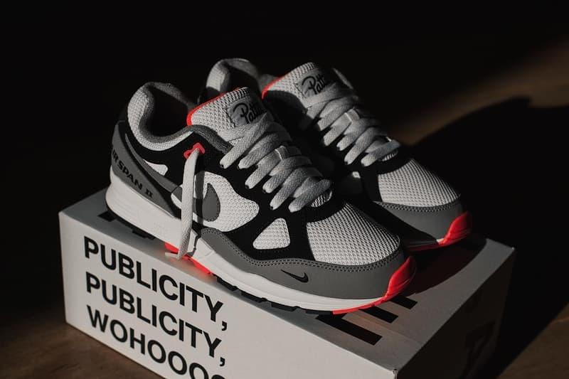 100% authentic 87d3b d21f2 Air Span 2 Nike X Patta