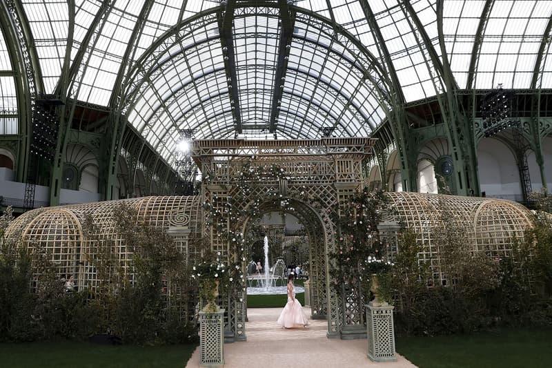 Défilé Chanel Grand Palais Printemps Été 2018