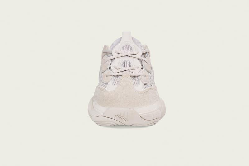 adidas Originals YEEZY 500 Blush Girs Écru Semelle adiPRENE