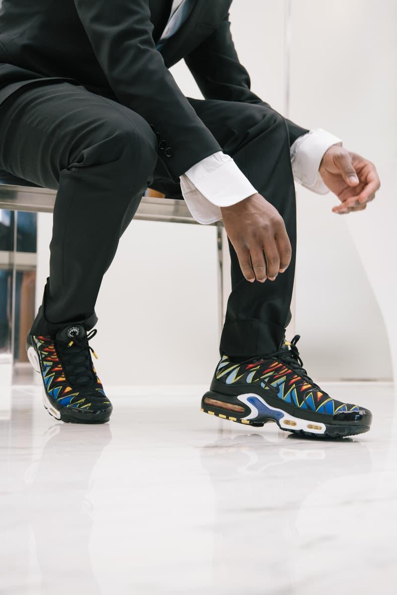 Portraits De Dan Sablon, Chaussé De La Nike Tn Édition Paris