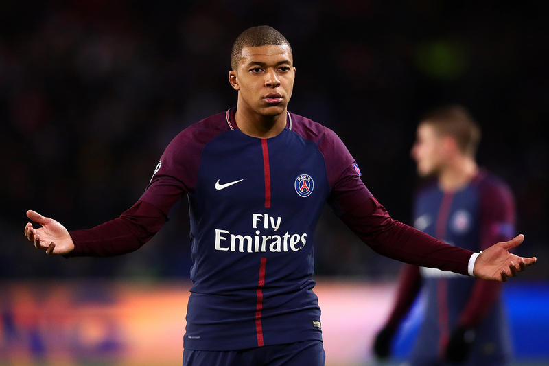 Kylian Mbappé Paris Saint-Germain Real Madrid Maillot Nike