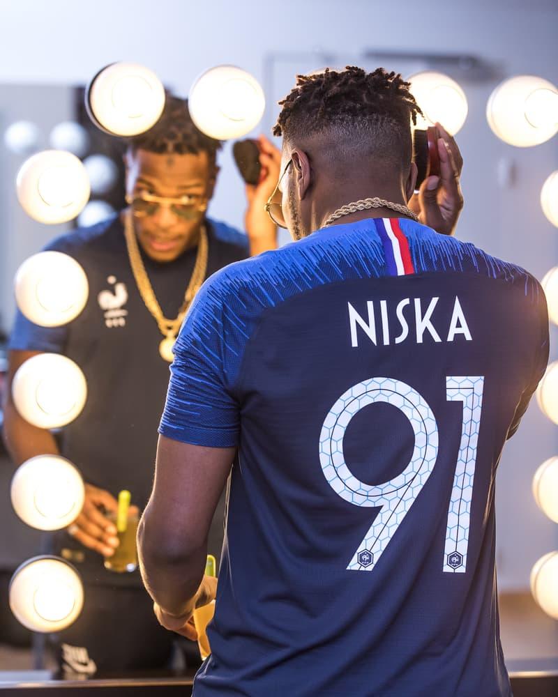 Coupe Du Monde Mondial Russie 2018 Football FIFA Niska Nantes Exclusivité Nike Concert