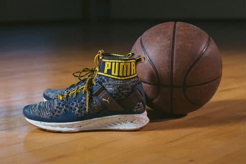 PUMA Basketball parquet