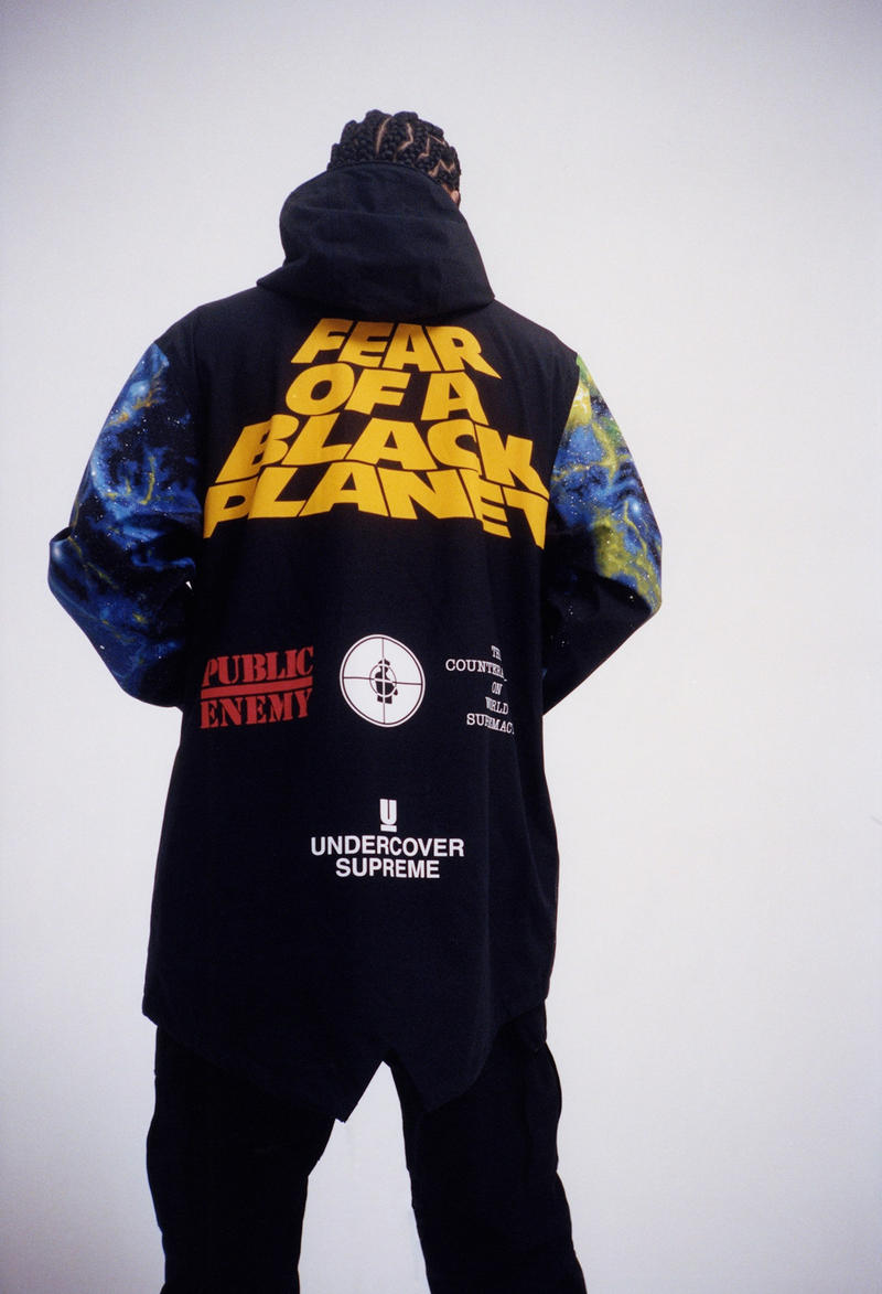 Lookbook Supreme x Public Enemy x UNDERCOVER