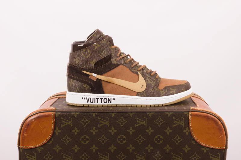 Louis Vuitton, Off White, Air Jordan, Virgil Abloh