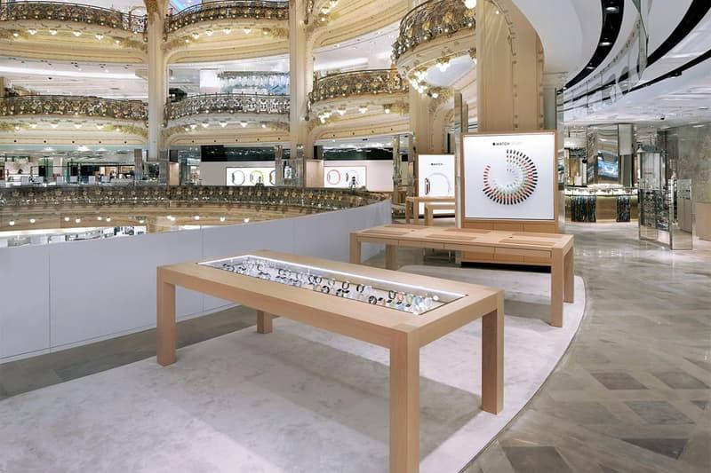 Apple Watch, Galerie Lafayette