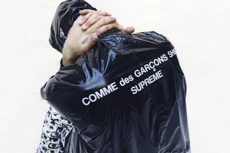 Imperméable COMME des GARÇONS & Supreme