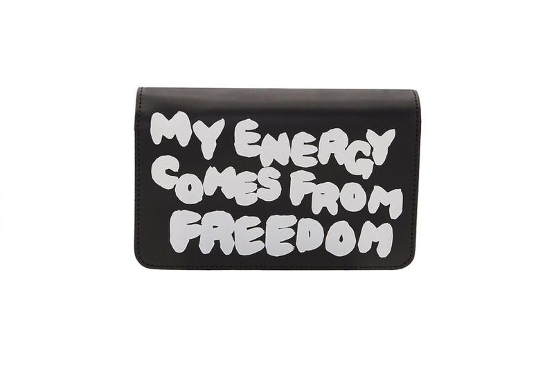 """Portefeuille COMME des GARÇONS """"Live Free With Strong Will"""""""