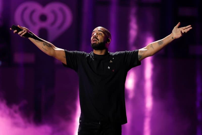 Portrait De Drake Sur Scène