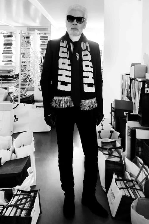 Le Designer Karl Lagerfeld