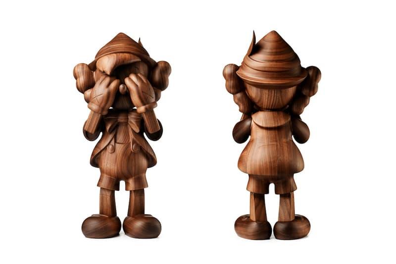 Sculpture En Bois KAWS x Disney