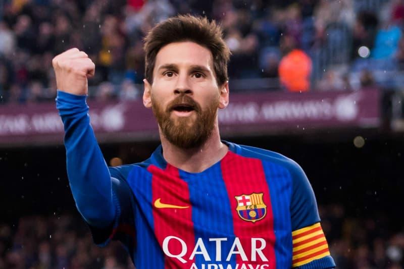 Portrait De Messi