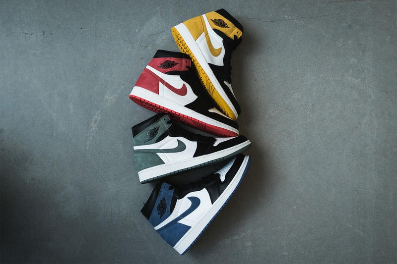 Air Jordan 1 Best Hand in the Game Track Red Yellow Ochre