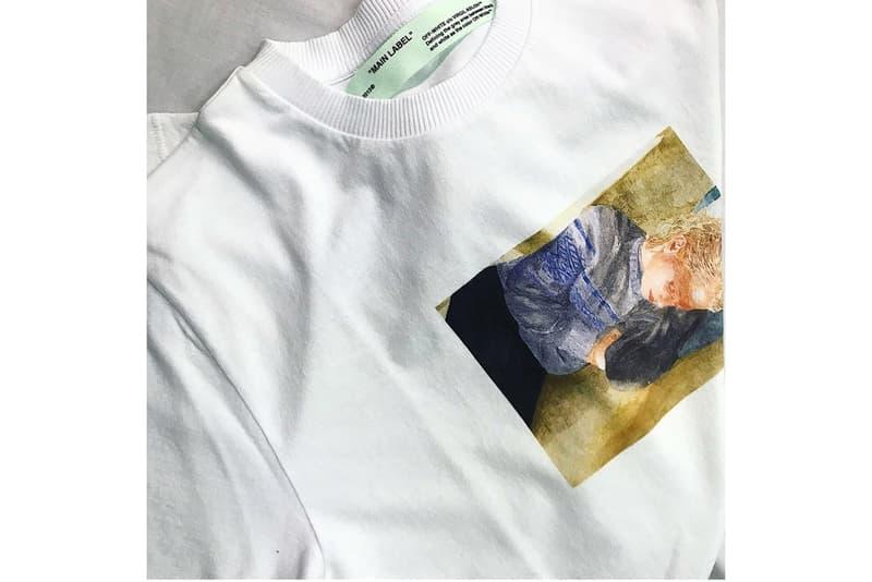 Tee-shirt Virgil Abloh Off white Lucien Smith
