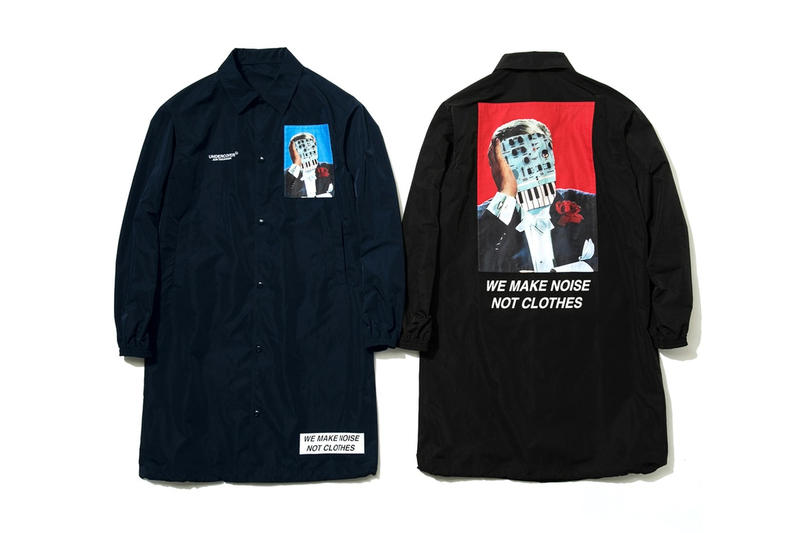 UNDERCOVER veste Bleue Noire