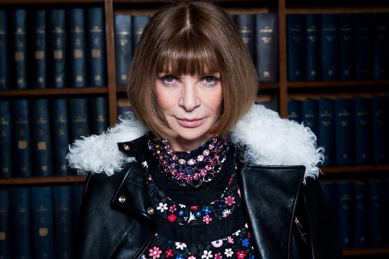 Vogue US Anna Wintour Vogue UK Départ Edward Enninful