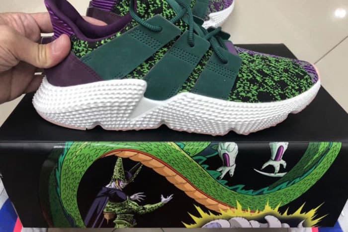 Dragon Ball Z, adidas, Cell, sneaker