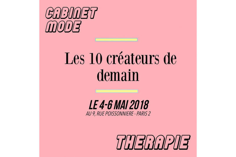 Affiche Du Pop-Up Store Cabinet Mode Thérapie