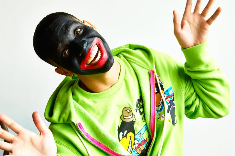 Photo Drake Blackface