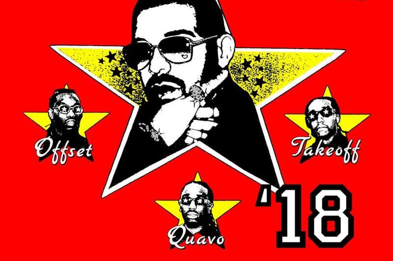 Drake Migos Tournée Aubrey & The Three Amigos
