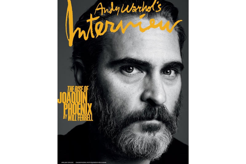 Magazine Interview Cover Joaquin Phoenix