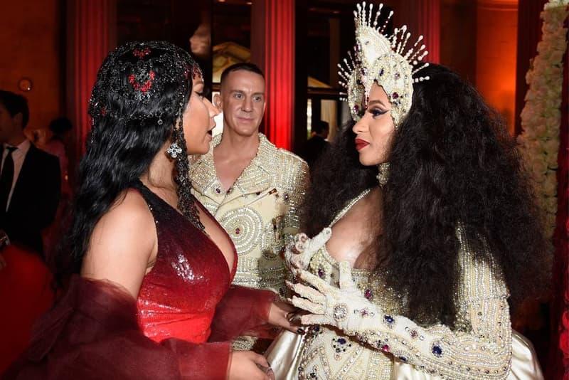 Nicki Minaj, Cardi B, Met Gala 2018