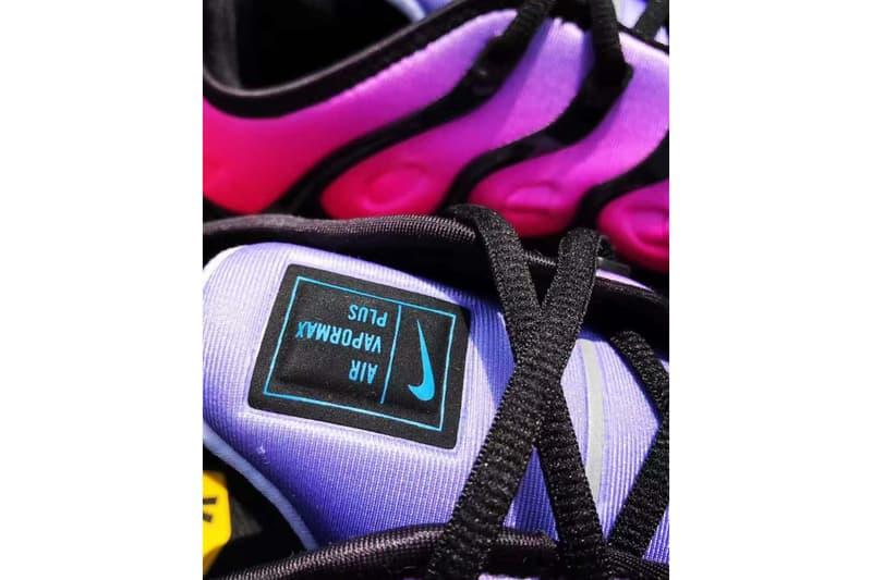 pretty nice f210b 0c2d6 Nike Air Vapormax Plus Be True sort en juin | HYPEBEAST