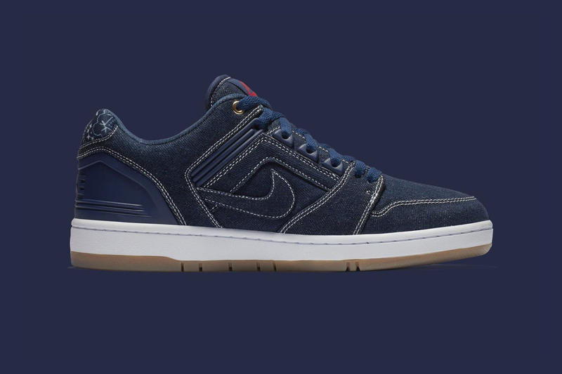 Nike SB Air Force 2 Low Tupac Rivals Pack West Coast