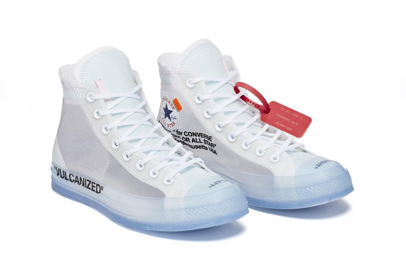 Photo Off-White™ x Converse Chuck Taylor