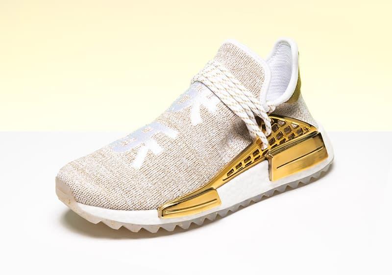 China pack Pharrell x adidas Originals Beige Et Or