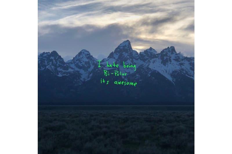 kanye west ye album cover histoire insolite kim kardashian